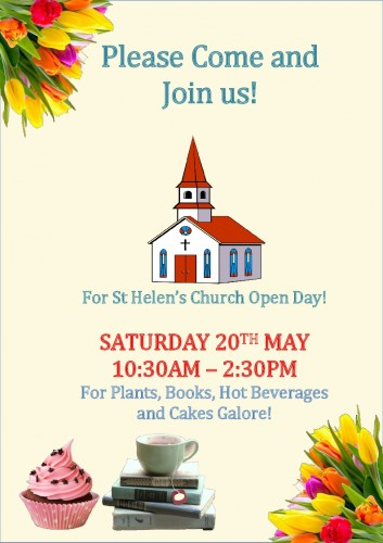 church open day poster