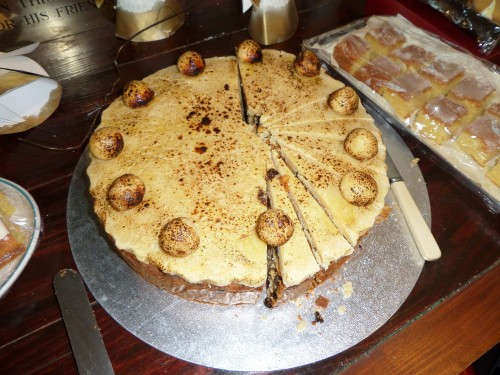 simnel cake Easter 2017